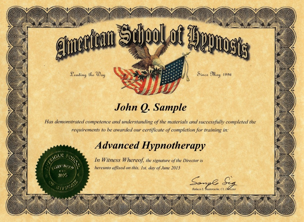 Our Courses Aia Hypnosis