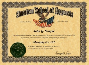 metaphysics 101
